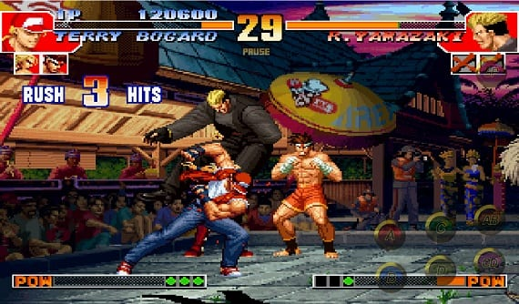 classic fighting KOF The King of Fighters 97 comes to Android