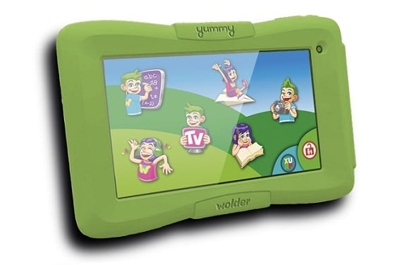 Yummy YUMMY miTab Wolder launches an Android tablet especially for the little kids